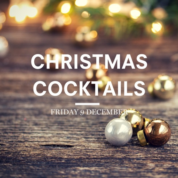 Christmas Cocktails facebook post