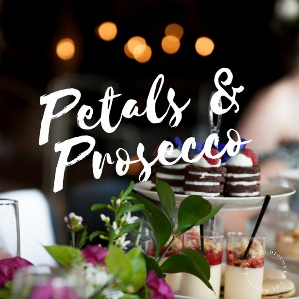 Petals and prosecco